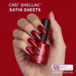 Гель-лак CND™ Shellac™ Satin Sheets Фото 3