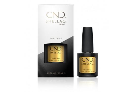 Закрепитель оригинальный CND™ Shellac™ UV Top Coat (15мл) Фото 1