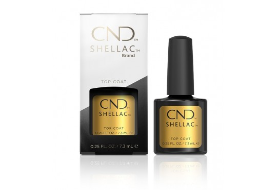 Закрепитель оригинальный CND™ Shellac™ UV Top Coat (7,3мл) Фото 1