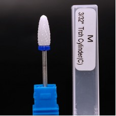 Керамічна насадка для фрезера конус (синя)
