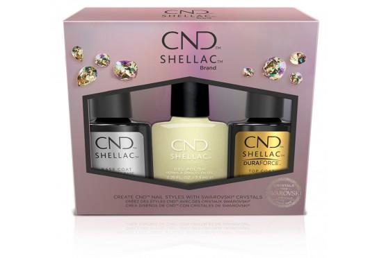 Набор гель-лаков CND™ Shellac™ Holiday Divine Diamond Kit
