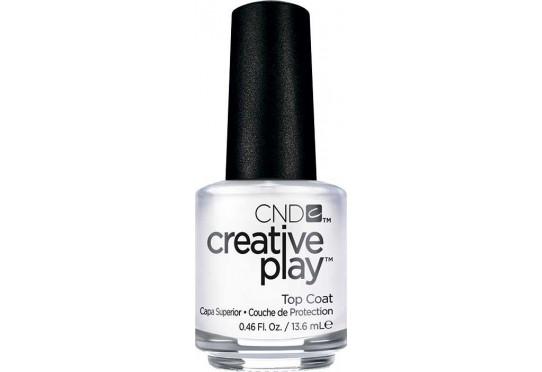 Закрепитель для лака CND™ CreativePlay™ Top Coat 15 мл Фото 1