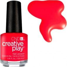 Лак для ногтей CND CreativePlay #453 Hottie Tomattie
