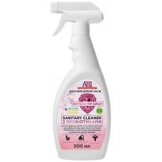 Пробиотический дезинфицирующее средство для санузлов Sviteco PIP Sanitary Cleaner (500мл)