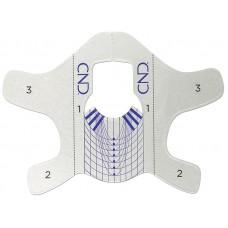 Многоразовые металлические формы для наращивания ногтей CND FUTURE FORMS (10шт)