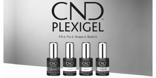 Новые гели для ногтей CND PlexiGelL™ 2020