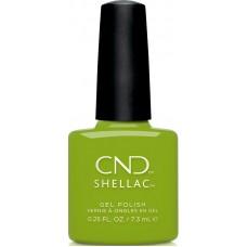 Гель-лак CND Shellac Crisp Green