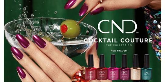 Новая зимняя коллекция CND™ Shellac и Vinylux Cocktail Couture
