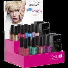 Набор лаков для ногтей CND Vinylux Art Vandal Large (8 цветов и 2 закрепителя)