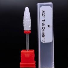 Керамическая насадка для фрезера конус С (красная)