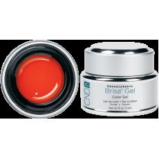 Цветной гель для дизайна ногтей CND™ Brisa Gel Orange Opaque Color (14г)