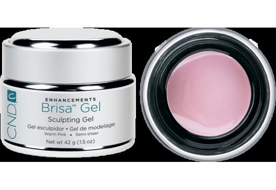 Гель для наращивания ногтей Brisa Gel Warm Pink Semi-sheer (42г)