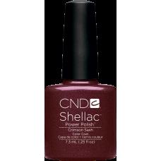 Гель-лак CND Shellac Crimson Sash