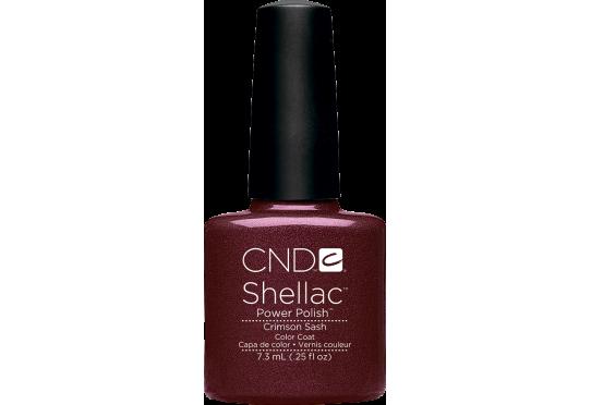 Гель-лак CND™ Shellac™ Crimson Sash Фото 1