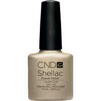 Гель-лак для ногтей CND Shellac Locket Love (золотистый)