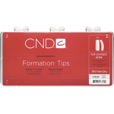Прозрачные типсы Clear Formation Tips (360шт./уп)