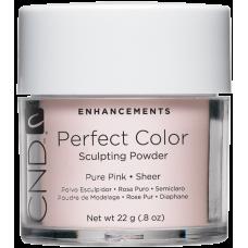 Розовая прозрачная акриловая пудра CND™ Perfect Color Pure Pink-Sheer (22г)