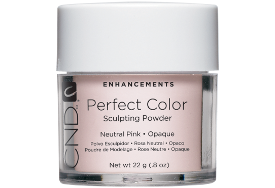 Акриловая пудра CND Perfect Color Neutral Pink-Opaque (22г)