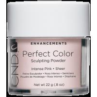 акриловая пудра CND Perfect Color Intense Pink-Sheer (22г)