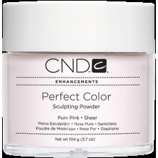 Розовая прозрачная акриловая пудра CND™ Perfect Color Pure Pink-Sheer (104г)