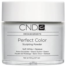 Мягко-белая непрозрачная акриловая пудра CND™ Perfect Color Soft White-Opaque (104г)