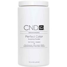 Мягко-белая непрозрачная акриловая пудра CND™ Perfect Color Soft White-Opaque (907г)