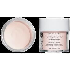 Тепла рожева камуфлююча акрилова пудра CND™ Perfect Color Warm Pink-Opaque (22г)