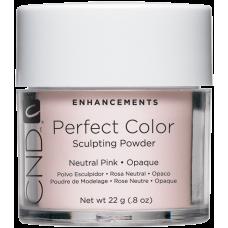 Нейтральная розовая  непрозрачная акриловая пудра CND™ Perfect Color Neutral Pink-Opaque (22г)