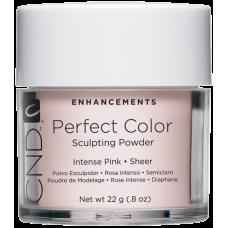 Интенсивно-розовая прозрачная акриловая пудра CND™ Perfect Color Intense Pink-Sheer (22г)
