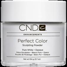 Белая акриловая пудра CND™ Perfect Color Pure White (104г)