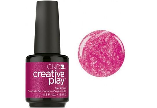 Гель-лак Creative Play Cherry Glo Round #496 Фото 1