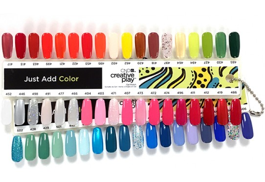 Колірна палітра Creative Play Gel Polish Фото 1