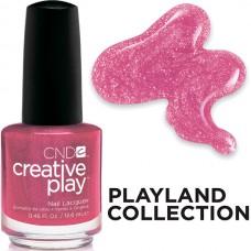 Лак для ногтей CND CreativePlay Cherry-Glo-Round #496