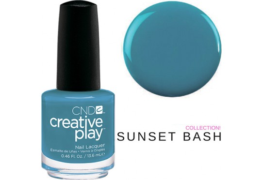 Лак для ногтей CND™ CreativePlay™ Teal The Wee Hours #503