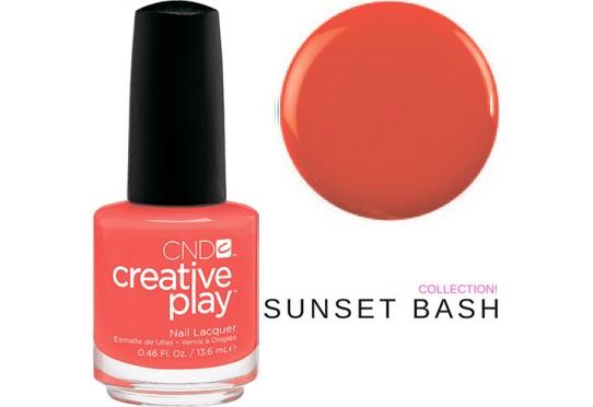 Лак для ногтей CND™ CreativePlay™ Tangerine Rush #499
