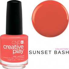 Лак для ногтей CND CreativePlay Tangerine Rush #499