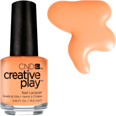 Лак для ногтей CND CreativePlay Clementine Anytime #461