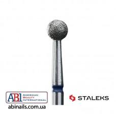 Фреза алмазна куля синя діаметр 4 мм FA01B040K