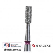 Фреза алмазная цилиндр красная диаметр 2,5мм / рабочая часть 6 мм FA20R025/6K