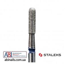 Фреза алмазная цилиндр закругленный синяя диаметр 2,3мм / рабочая часть 8мм FA30B023/8K