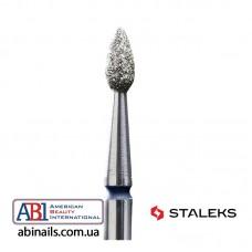 Фреза алмазная капля синяя диаметр 2,3мм / рабочая часть 5мм FA40B023/5K