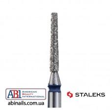 Фреза алмазная усеченный конус синяя диаметр 1,6мм / рабочая часть 10мм FA70B016/10K