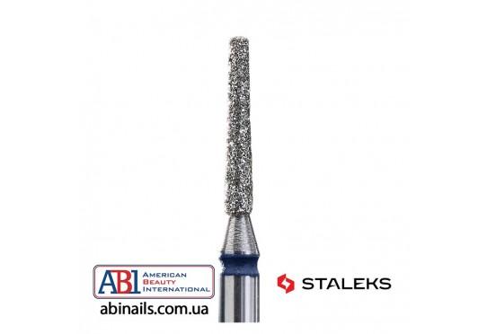 Фреза алмазная усеченный конус синяя диаметр 1,6мм / рабочая часть 10мм FA70B016/10K Фото 1