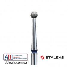 Фреза алмазная шар синий диаметр 2,5мм FA01B025K