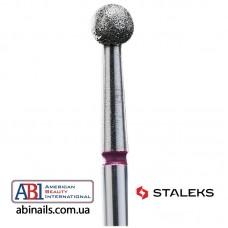 Фреза алмазная шар красный диаметр 3,5мм FA01R035K