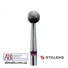 Фреза алмазная шар красный диаметр 4мм FA01R040K