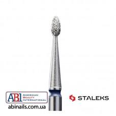 Фреза алмазная почка закругленная синяя диаметр 1,6мм / рабочая часть 3,4мм FA50B016/3.4K