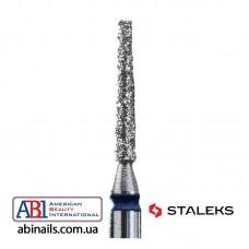 Фреза алмазная игла синяя диаметр 1мм / рабочая часть 10мм (комплект 6шт.) FA80B010/10K