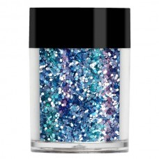 Аквамарин конфетти Lecente™ Aquamarine Chunky Glitter Shapes (8г)