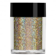 Шампанское супер голографический глиттер Lecente™ Champagne Super Holographic Glitter (8г)